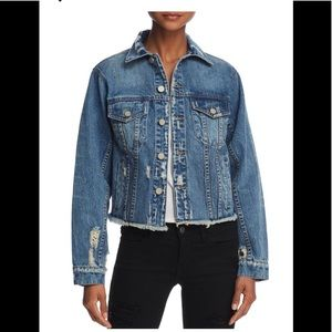 PAM & GELA - Distressed Denim Jacket